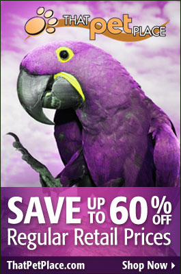 Discount Bird Supplies at That Fish Place - Pet Place></a>