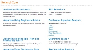 Aquatic Article Archive General Care