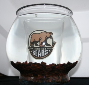 Hershey Bears Fish Bowl